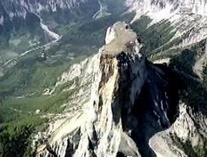 Le Mont Aiguille, dans le vercors