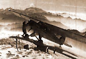 Le Piper au sommet du mont Blanc