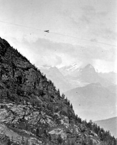 Chavez sur le versant nord, côté Suisse